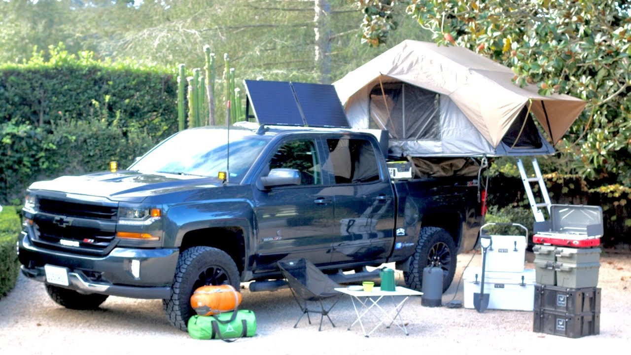 Overland Camping Build 2017 Chevy Silverado Frontrunner