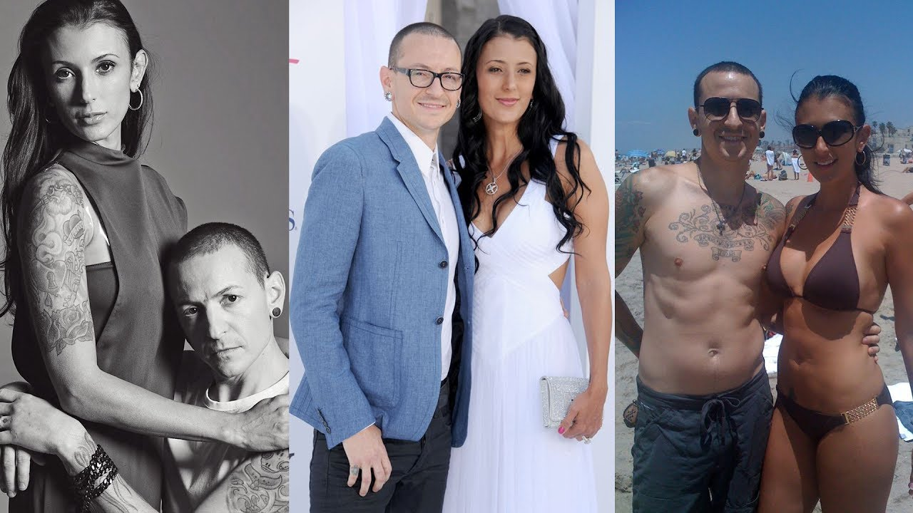 unseen pictures of chester bennington's wife talinda - youtube