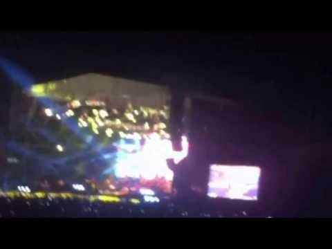 Marc Anthony  Vivir mi vida Metro concierto Cartagena 28 - 12 - 2013