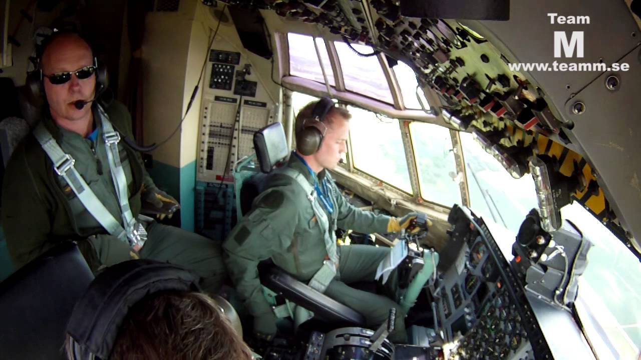 C 130 Hercules Cockpit Video With Gopro 40 Min Youtube