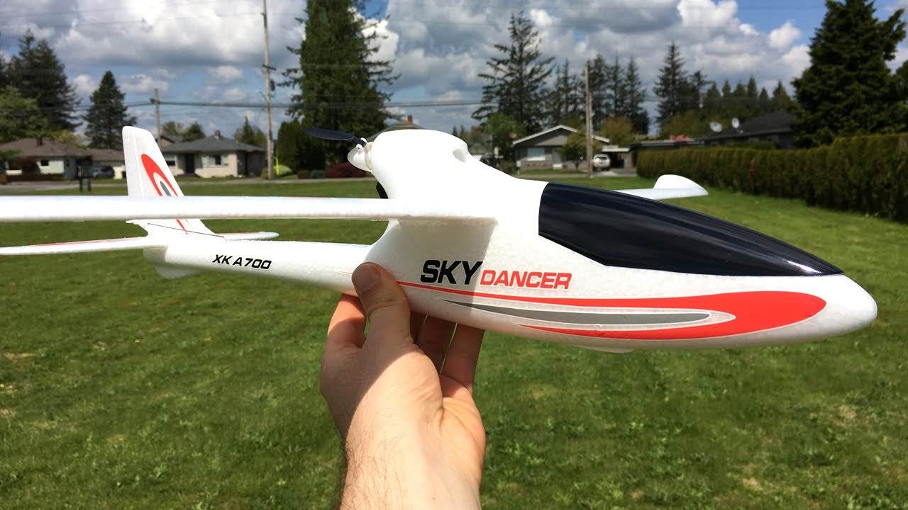 Radio Controlled And Gliding Over >> Xk A700 Sky Dancer 750mm Rtf Rc Glider Unboxing Maiden Flight And