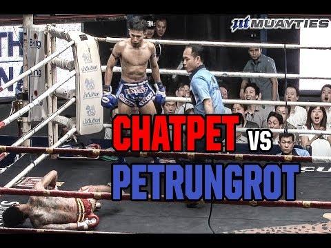 Muay Thai - Chatpet vs Petrungrot (ฉัตรเพชร vs เพชรรุ่งโรจน์), Rajadamnern Stadium,Bangkok, 21.2.18.