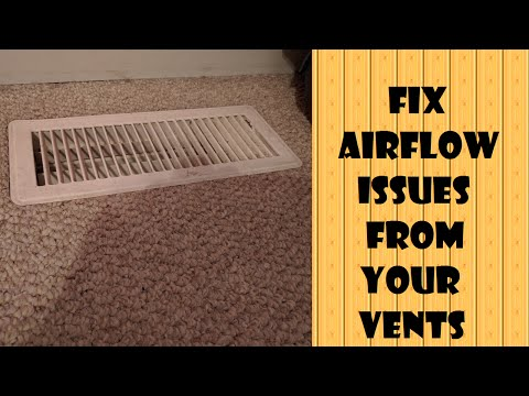 Fix Airflow from your Vents