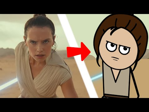 Star Wars: The Rise Of Skywalker Trailer But With Stick Figures