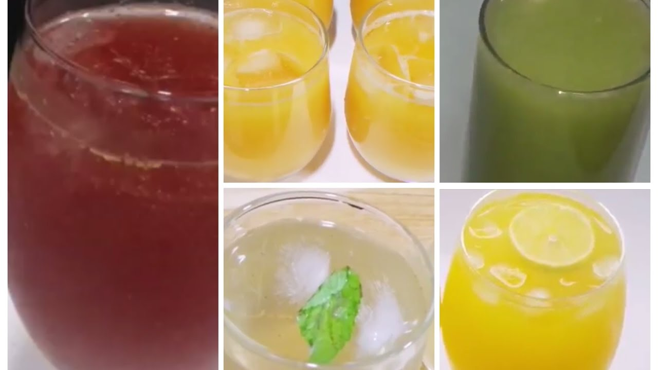 Best 5 Summer Drinks Recipes Simple And Easy Drinks Recipes
