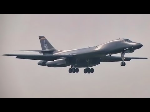 USAF Bombers Arrive In The Czech Republic For NATO Days 2016