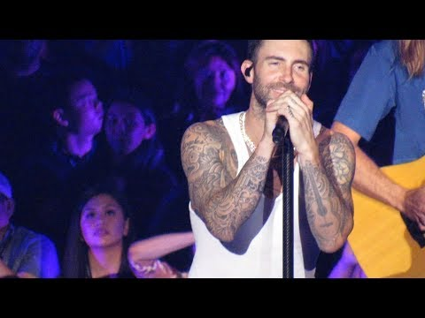 Maroon 5 She Will Be Loved, Sugar Live at LA Forum 2018