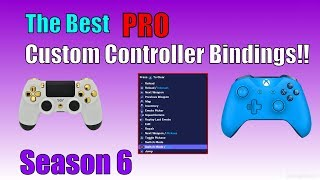 The Best Custom Controller Bindings and Sensitivity | Instant Edit | Best Sensitivity Fortnite