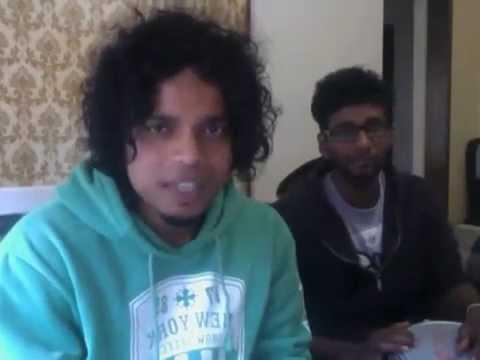 Sri Lankan Funny Song Korea ආවෙ කව්ද කොරියා ENG SUB