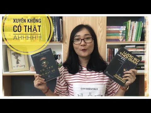 """⭐️[Review sách] """"Lược Sử Thời Gian"""" & """"Vũ Trụ Trong Vỏ Hạt Dẻ"""" 🐣  Tác giả: Stephen Hawking"""