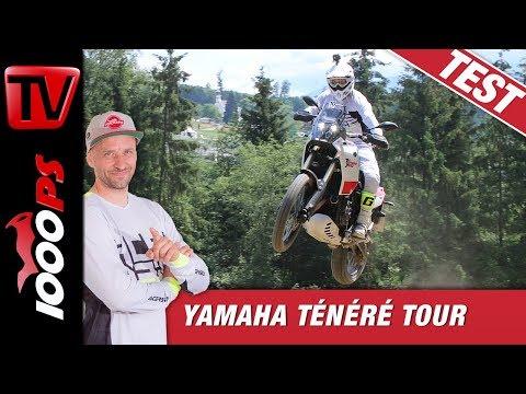 Yamaha Ténéré 700 Tour - RedBull Ring - Airtime mit 204kg - Fahreindrücke - Offroad - Erfahrungen