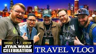 """Blind Wave Travel Vlog """"Star Wars Celebration - Chicago 2019"""""""