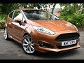 Used Ford Fiesta 1.0 EcoBoost 125 Zetec S 3dr Copper Pulse 2017
