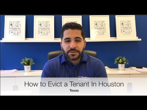 How To Evict A Tenant In Houston Texas   Top Property Manager Explains Landlord Tenant Eviction Proc