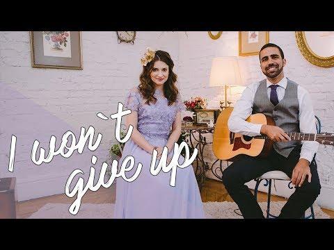 I Wont Give Up Jason Mraz por Lorenza Pozza