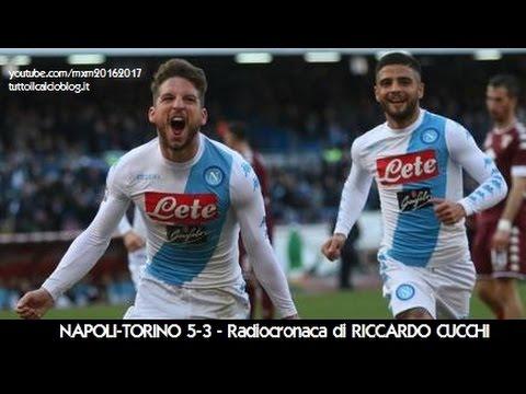 NAPOLI-TORINO 5-3 - Radiocronaca di Riccardo Cucchi (18/12/2016) da Rai Radio 1