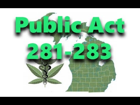 Public Act 281 - 283 is Law in Michigan. Now What?