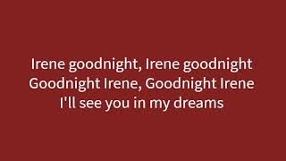 Jim Reeves - Goodnight Irene (Lyric video)