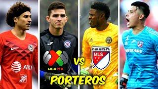 5 PORTEROS MÁS CAROS de la LIGA MX vs 5 PORTEROS MÁS CAROS de la MLS