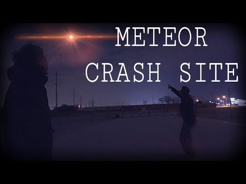 METEOR SIGHTING IN MICHIGAN **We found the crash site** (January 16 2018)