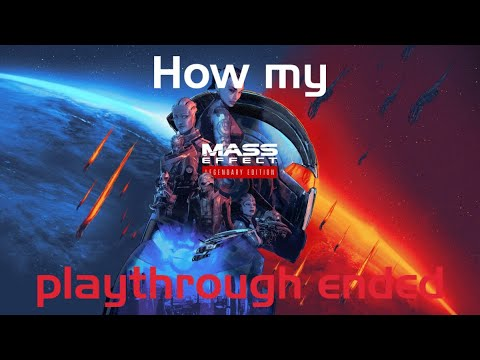How my first Mass Effect Trilogy playthrough ended  