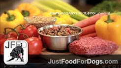 Kangaroo and Lentil Special Healthy Dog Food | JustFoodForDogs