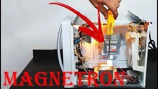 Defeito micro ondas magnetron não  esquenta - Microwave magneton fault not hot