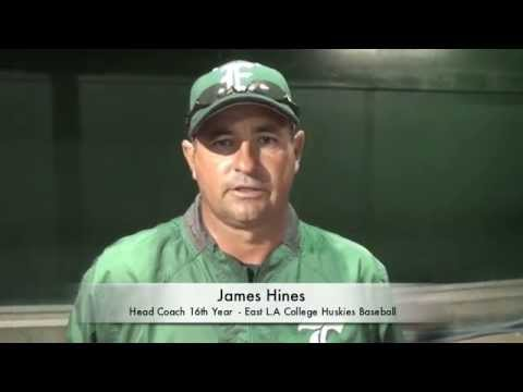 James Hines Head Coach East LA College Huskies Baseball 2014
