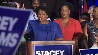 Stacey Abrams claims victory in Georgia primaries