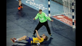 Matskevich Ivan against Sweden ( EHF Euro 2018)