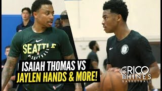 Isaiah Thomas PROVES HE'S Still a MAJOR PROBLEM at Rico Hines Runs!