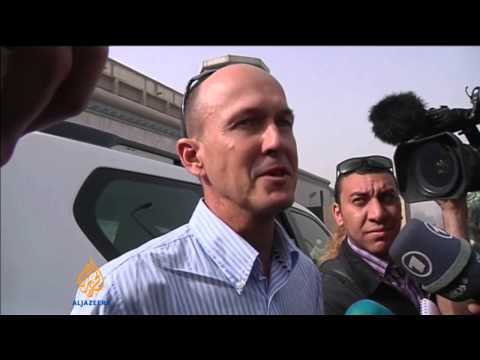 Al Jazeera staff appear in Egyptian court