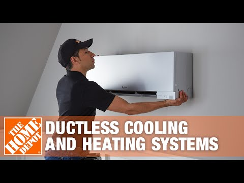 Mitsubishi Electric Ductless Cooling and Heating Systems