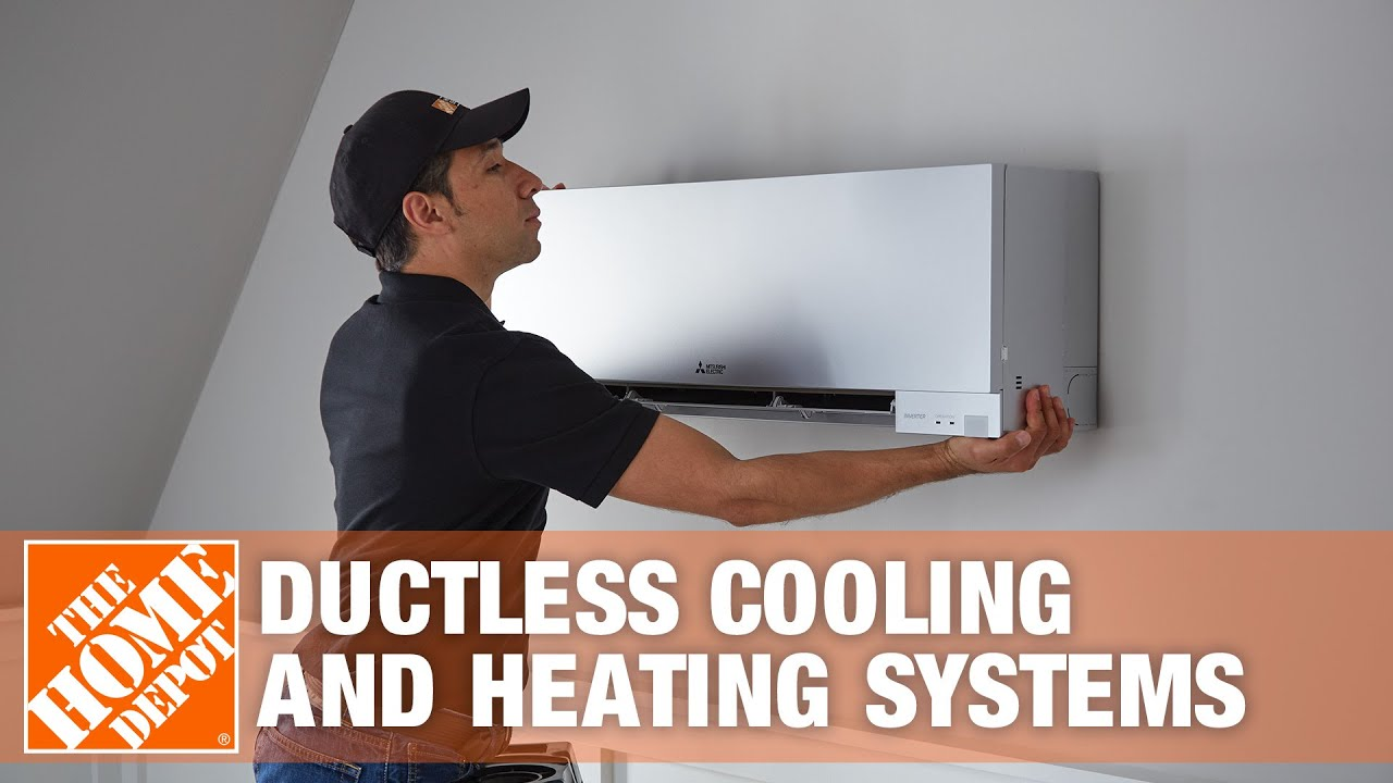 mitsubishi electric ductless cooling and heating systems - youtube