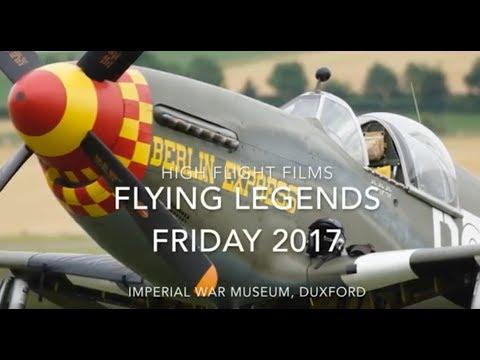 Flying Legends Friday 2017