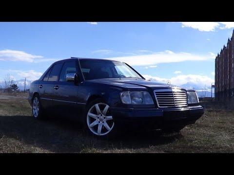 Mercedes E60 W124 С НЕРЕАЛЬНЫМ ВЫХЛОПОМ — МЕЧТА! - YouTube