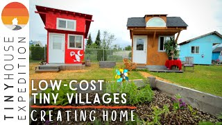 Inspired Self-Managed Tiny Home Village for Formerly Homeless