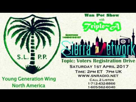SLPP Young Generation North America & Salone On D Wan Pot Show