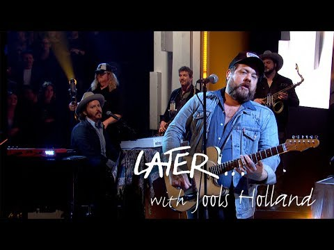 Nathaniel Rateliff & The Night Sweats take it to the bridge with Be There on Later…