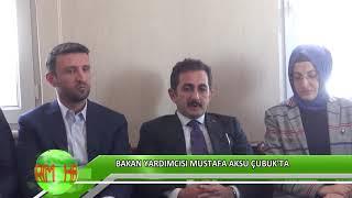 Bakan Yardımcısı Mustafa Aksu Çubuk'ta