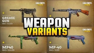 Weapon variants are back in COD WW2 but.. IT