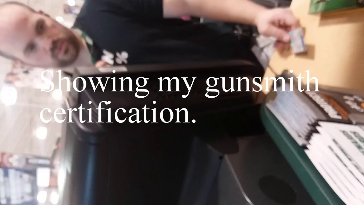 Certified Gunsmith Trying To Buy Ammo Underage Youtube
