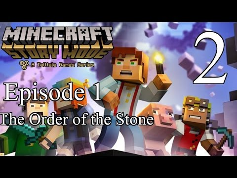 Tigey Plays: Minecraft Story Mode Ep 1 P.2 [Jipped]