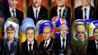 شاهد: بعد 20 عاما في السلطة بوتين حاضر بقوة في محلات بيع السلع التذكارية…