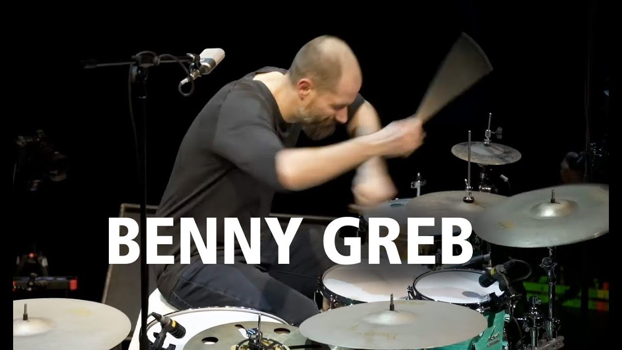 Download Benny Greb: DRUM SOLO