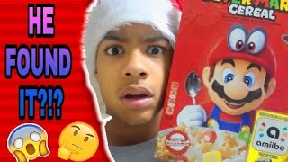I FOUND THE CEREAL! Mario Cereal Review!