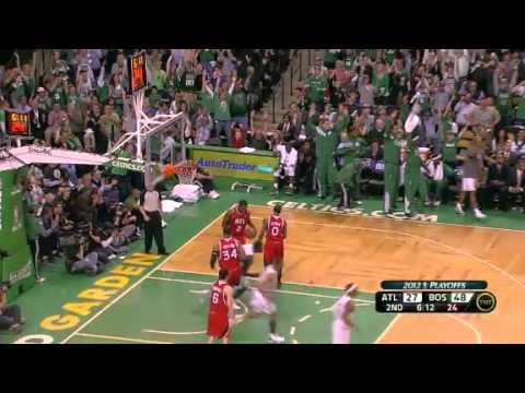2012 PLAYOFFS ROUND 1 GAME 4 Boston Celtics VS Atlanta Hawks (3-1 Celtic Lead)