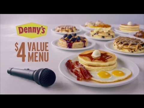 Denny's Value Menu - Bob Tracey Voice