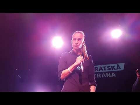 Povolební projev Ivana Bartoše
