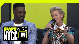 Nightflyers Cast & The Unbridled Chaos Of George R.R. Martin ... In Space! | NYCC 2018 | SYFY WIRE